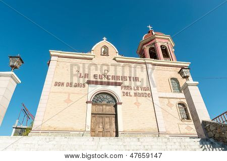 The Church Of Santo Cristo Del Ojo De Agua In Saltillo, Mexico