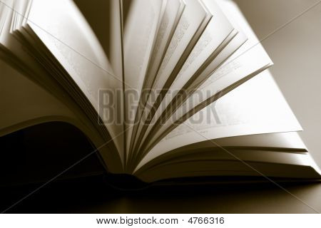 Abstract Open Book