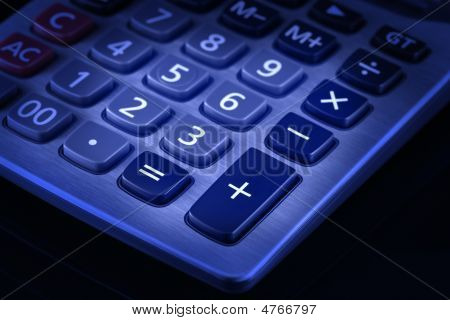 Desktop Calculator Keypad