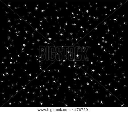 The Star Vector Night Sky