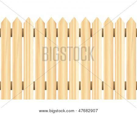 Wood Fence (seamless)