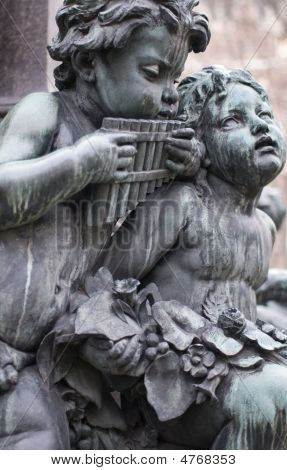 Sculptures Of Musicians
