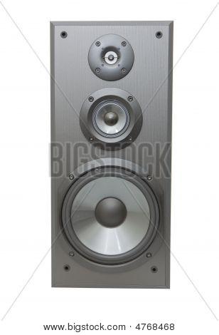 Vorderansicht einer Lautsprecher-Box