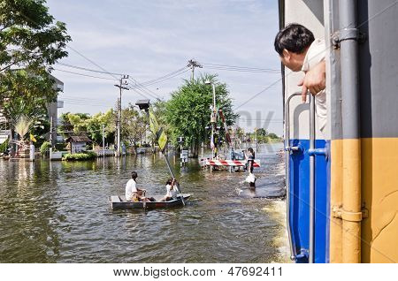 The Worst Flooding In Thailand
