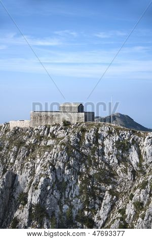 Mausoleum on mount Lovcen