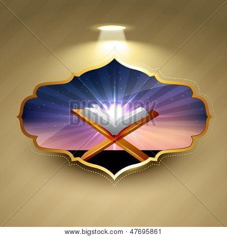 vector islamic background design illustration