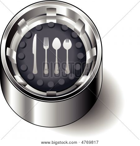 Rubber-button-round-eating-utensils