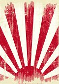 picture of japanese flag  - Japan grunge war flag - JPG