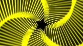 Постер, плакат: Звезда излучения мягкий желтый