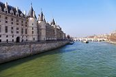 Conciergerie Palace In Paris