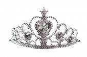 pic of beauty pageant  - Beautiful little silver crown - JPG