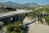 picture of albania  - Mes Bridge  - JPG