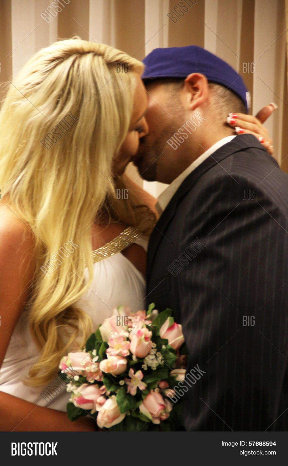 Mary Carey And Mario Monge Courtesy Of At The Wedding Ceremony Of Mary Carey And Mario Monge