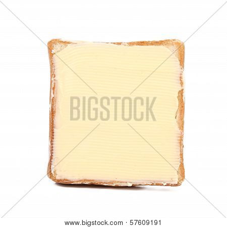 Slice of wheaten bread