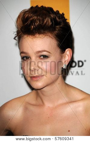 Carey Mulligan at the 13th Annual Hollywood Awards Gala. Beverly Hills Hotel, Beverly Hills, CA. 10-26-09