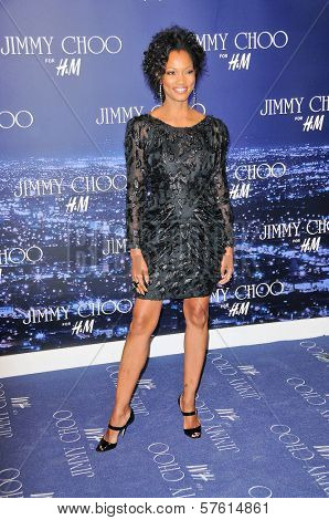 Garcelle Beauvais-Nillon  at the Jimmy Choo For H&M Collection, Private Location, Los Angeles, CA. 11-02-09
