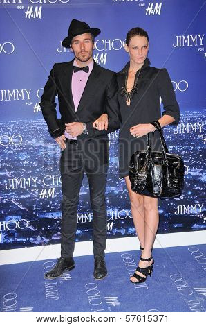 Angela Lindvall  at the Jimmy Choo For H&M Collection, Private Location, Los Angeles, CA. 11-02-09