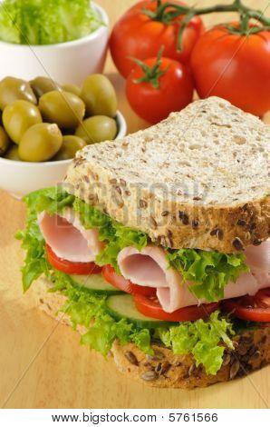 Wholemeal Sandwich