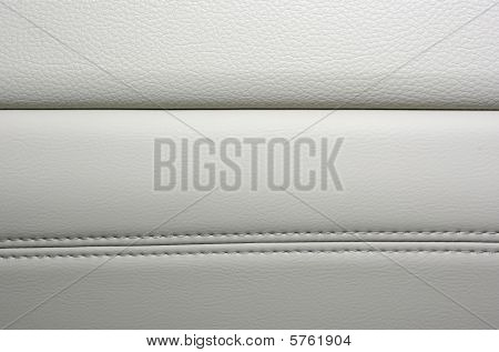 High Quality Leather Background. Modern Japanese Car Interior.