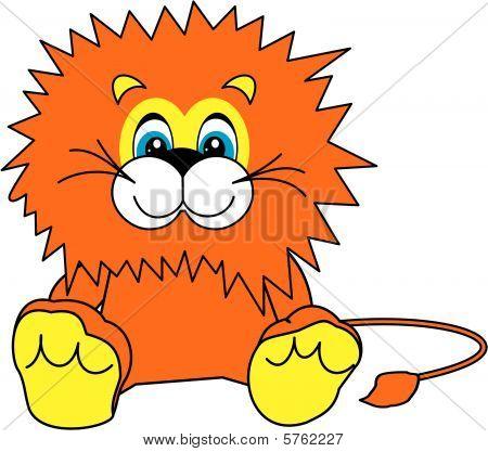 Smiling Little Lion