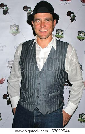 Vinnie Jones at the World Cup Showdown Fundraiser, El Guapo Cantina, Los Angeles, CA.  11-06-09