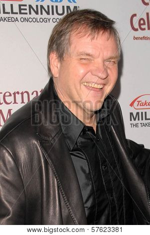 Meat Loaf  at the International Myeloma Foundation's 3rd Annual Comedy Celebration for the Peter Boyle Memorial Fund, Wilshire Ebell Theater, Los Angeles, CA. 11-07-09