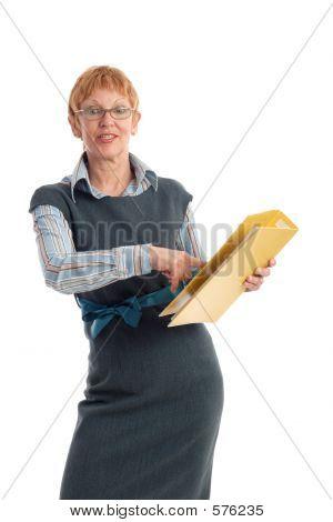 Attractive Mature Businesswoman