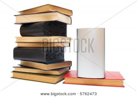 Hard Drives And Old Books