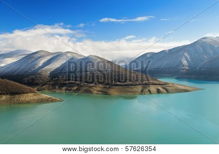 River, Lake, Mountains, Landscapes