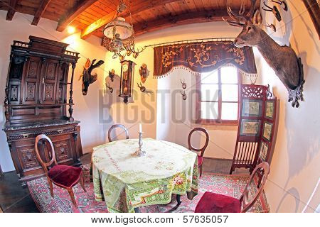 Pribylina - Interior Of Manor-house