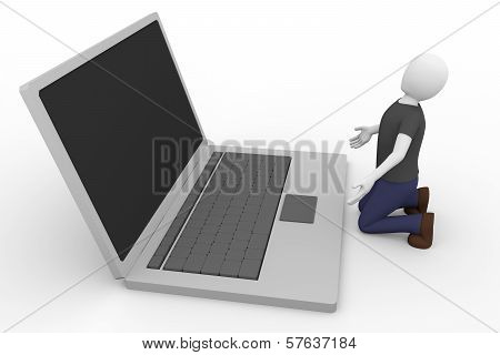 Imploring Laptop