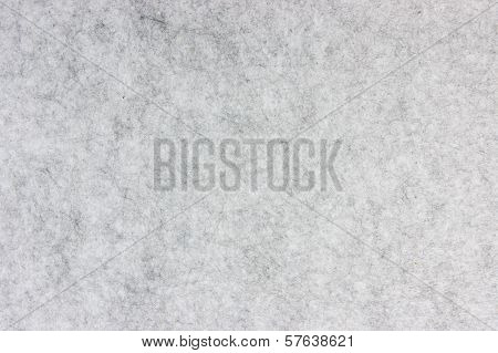 Gray Heathered Felt As Background