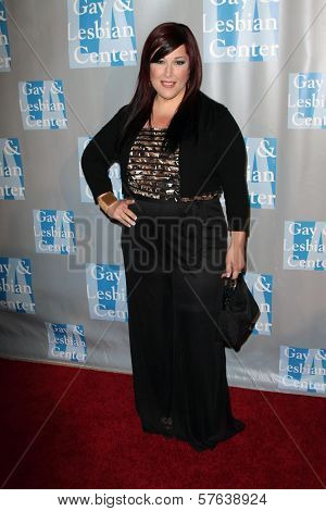 Carnie Wilson at the L.A.Gay and Lesbian Center