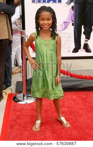 Yara Shahidi  at the Los Angeles Premiere of 'Imagine That'. Paramount Pictures, Hollywood, CA. 06-06-09