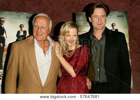 Robert Loggia with Pell James and Bill Pullman  at the Los Angeles Premiere of 'Surveillance'. The Landmark, Los Angeles, CA. 06-15-09