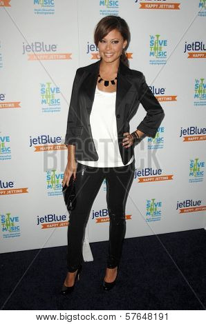 Vanessa Minnillo  at the JetBlue Airways and VH1 Save the Music Party. MyHouse, West Hollywood, CA. 06-17-09