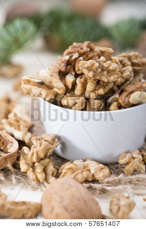 Fresh Portion Of Walnuts