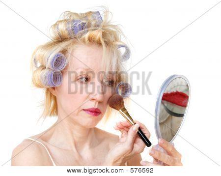Curler Woman