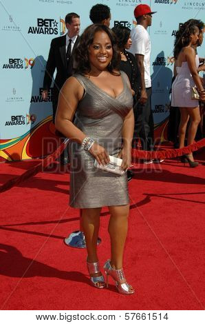 Sherri Shepherd  at the 2009 BET Awards. Shrine Auditorium, Los Angeles, CA. 06-28-09