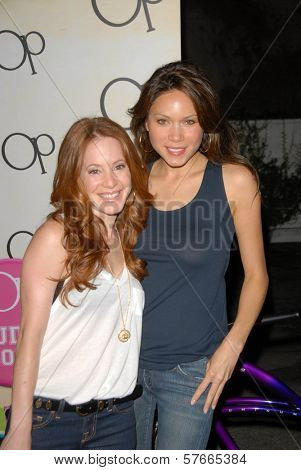 Amy Davison and Jennifer Roa at the