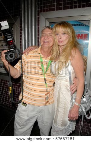 Jeffrey Knight and Laurene Landon at the Los Angeles Charity Benefit Premiere of 'Bad Cop'. Fairfax Cinemas, West Hollywood, CA. 07-09-09
