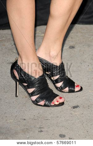 Sasha Alexander's shoes at the 3.1 Phillip Lim Los Angeles Store One Year Anniversary Party. 3.1 Phillip Lim, West Hollywood, CA. 07-15-09