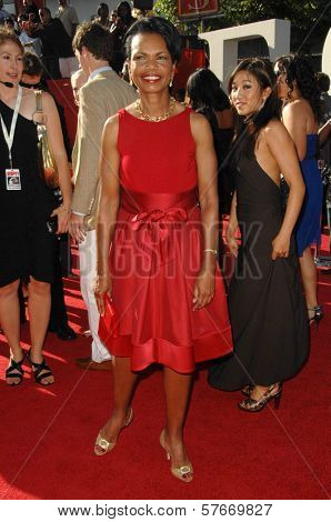 Condoleezza Rice  at the 17th Annual ESPY Awards. Nokia Theatre, Los Angeles, CA. 07-15-09