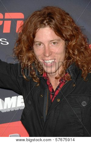 Shaun White  at the Los Angeles Premiere of 'XGames 3D - The Movie'. Nokia Theatre, Los Angeles, CA. 07-30-09