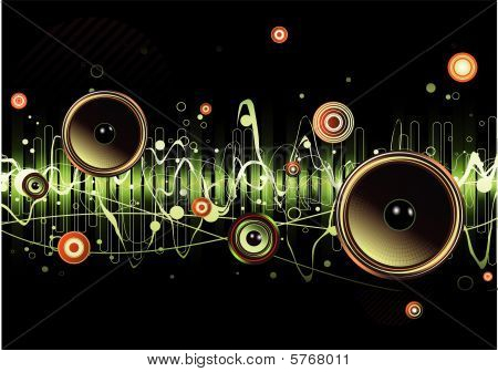 abstract party design