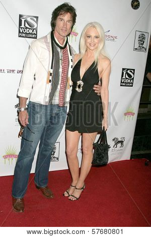 Ronn Moss and Donna Spangler at the Los Angeles Screening of 'Social Lights'. Regency Fairfax Cinemas, Los Angeles, CA. 08-05-09