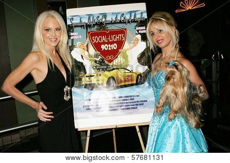 Donna Spangler and Sabrina Parisi at the Los Angeles Screening of 'Social Lights'. Regency Fairfax Cinemas, Los Angeles, CA. 08-05-09