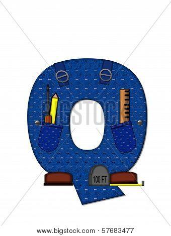 Alphabet Carpenter Tools Q
