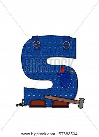 Alphabet Carpenter Tools S