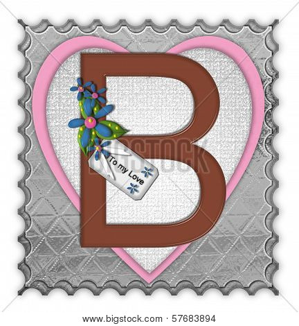 Alphabet Chocolate Box B